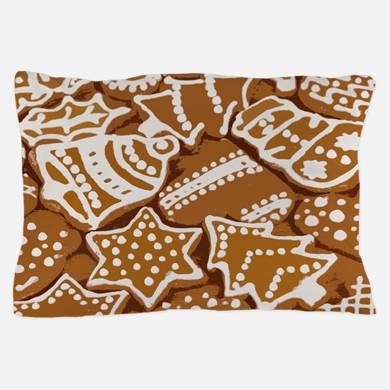 Christmas Gingerbread Pillow Case