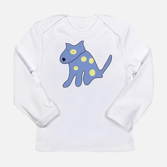 OneBlueDog-WhL Long Sleeve T-Shirt