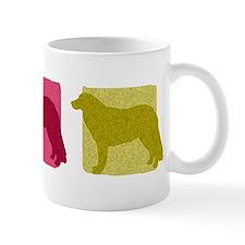 Color Row Kuvasz Mug