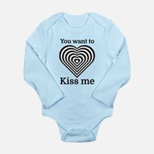 You Want To Kiss Me Body Suit