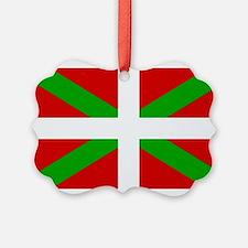 Basque Flag Ornament