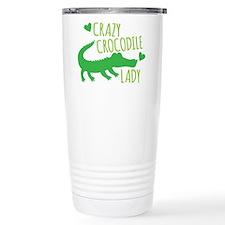 Cute Crocodiles Stainless Steel Travel Mug