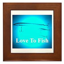 fishlures Framed Tile
