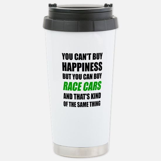 You Can't Buy Happiness Stainless Steel Travel Mug