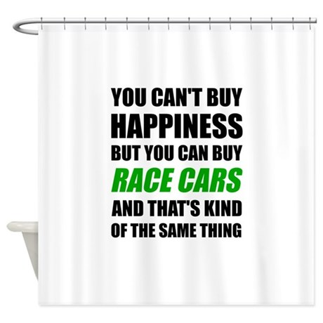 You Cant Buy Happiness But You Can Shower Curtain By