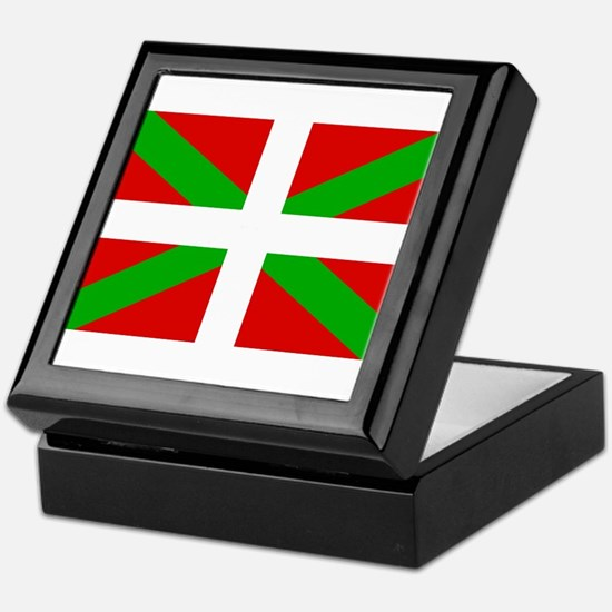 Basque Flag Keepsake Box