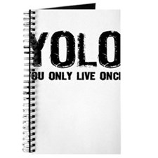 YOLO You Only Live Once Journal
