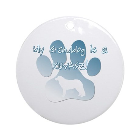 Komondor Granddog Ornament (Round)