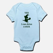 YES I can drive a stick Body Suit