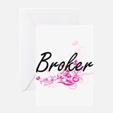 Broker Artistic Job Design with Flo Greeting Cards