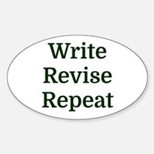 Write Revise Repeat Decal