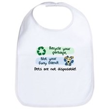 Pets are Not Disposable Bib