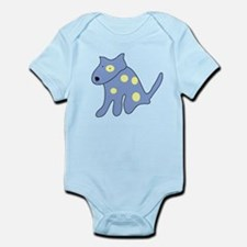 Blue Dog Body Suit