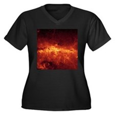 MILKY WAY CLOUDS Plus Size T-Shirt