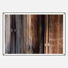 western country barn board Banner