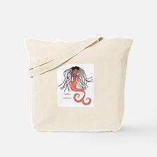Shellbee, Artlantica (black Mermaid) Tote Bag