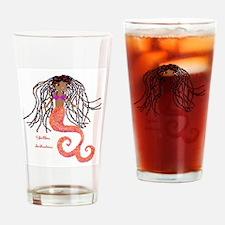 Shellbee, Artlantica (black mermaid) Drinking Glas