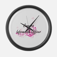 Careers Information Officer Artis Large Wall Clock