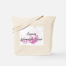 Careers Information Officer Artistic Job Tote Bag