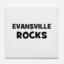 Evansville Rocks Tile Coaster