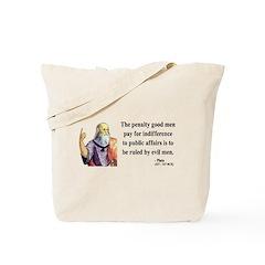 Plato 4 Tote Bag