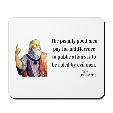 Plato 4 Mousepad