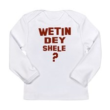 Funny Nigeria Long Sleeve Infant T-Shirt