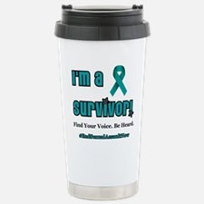 Sexual Assault Survivor Travel Mug