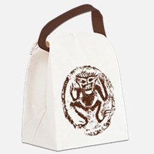 Chinese Zodiac Monkey Abstract Canvas Lunch Bag