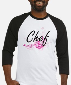 Chef Artistic Job Design with Flow Baseball Jersey