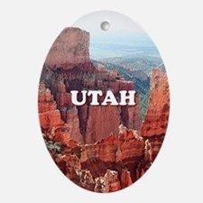 Utah: Bryce Canyon 5 Oval Ornament