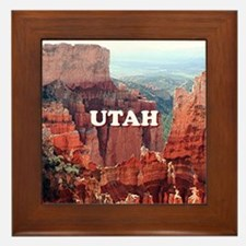 Utah: Bryce Canyon 5 Framed Tile
