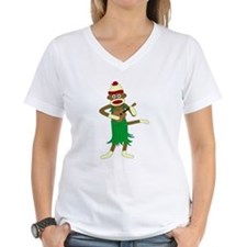 Sock Monkey Ukulele Shirt