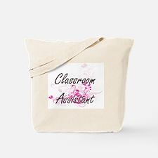 Classroom Assistant Artistic Job Design w Tote Bag