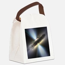 HIDDEN BLACK HOLE Canvas Lunch Bag