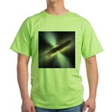 Black hole Green T-Shirt