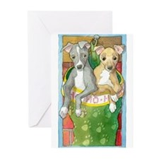 Funny Italian greyhounds Greeting Cards (Pk of 20)