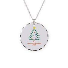 Our First Christmas 2015 Necklace