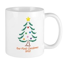 Our First Christmas 2015 Mug