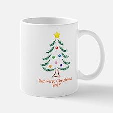 Our First Christmas 2015 Mug