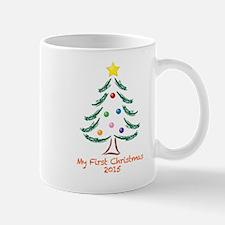 My First Christmas 2015 Tree Design Mug