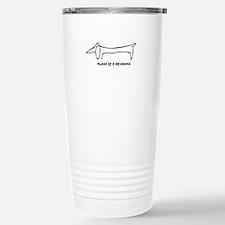 Owned by a Dachshund Travel Mug