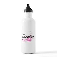 Comedian Artistic Job Water Bottle