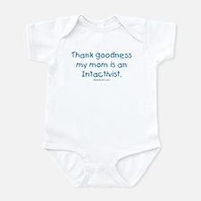 Mom's an Intactivist Infant Bodysuit
