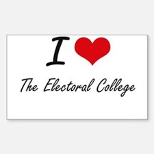 I love THE ELECTORAL COLLEGE Decal