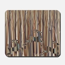 Deer Crossing Mousepad