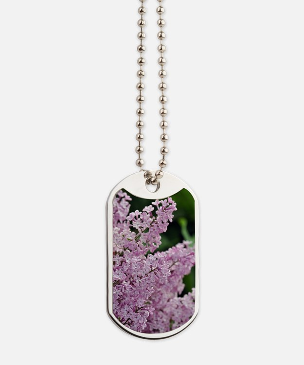 Cute Floral botanical Dog Tags