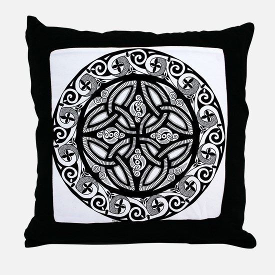 Celtic Shield Throw Pillow