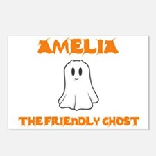 Amelia the Friendly Ghost Postcards (Package of 8)