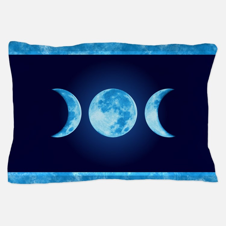 Three Phase Moon Pillow Case
